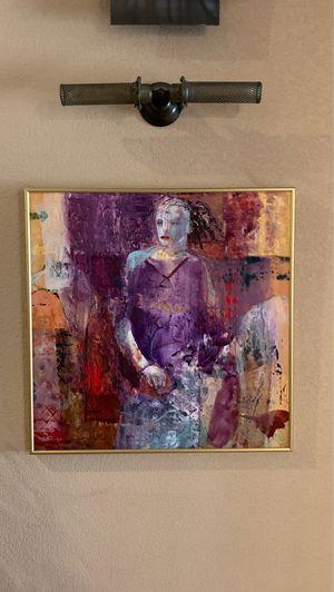 Original acrylic painting by Beverly McCarty 30 x 30 for Sale in El Dorado, AR