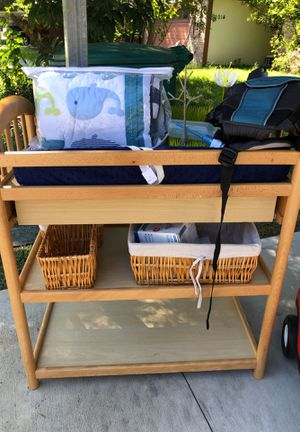 Changing table and more for Sale in Houston, TX