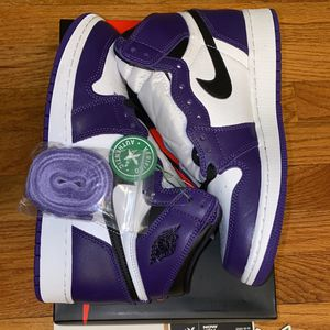 Jordan 1 Court Purple for Sale in West Hartford, CT