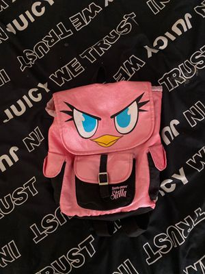 Pink angry bird small backpack for Sale in Las Vegas, NV