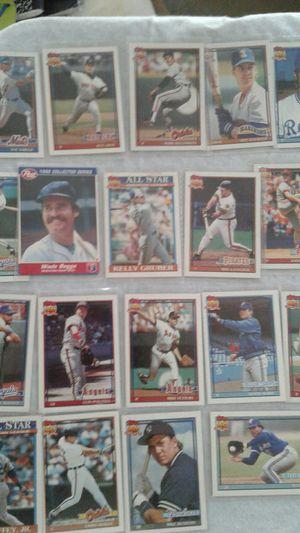 Topps assorted baseball cards $1 each for Sale in Lithia Springs, GA