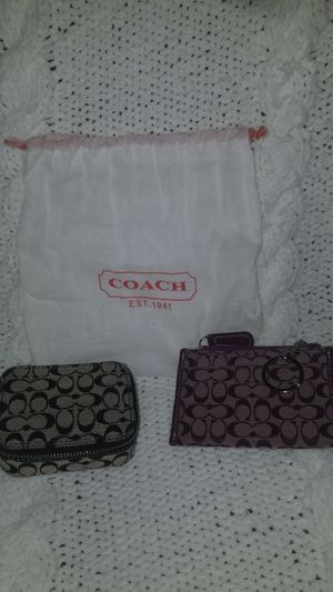 Coach Small Coin Purse & Travel Case for Sale in Des Plaines, IL