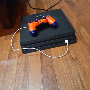 Almost New 1 TB PS4 PRO With 2 Controllers And All Plugs for Sale in Hialeah, FL