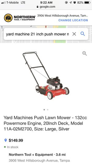 New push lawn mower 158cc for Sale in Tampa, FL