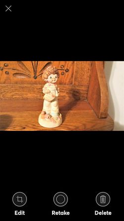 "SWEET DREAMS ""I Love You"" Figurine Hudson Bonded Porcelain USA MADE for Sale in Lynchburg,  VA"