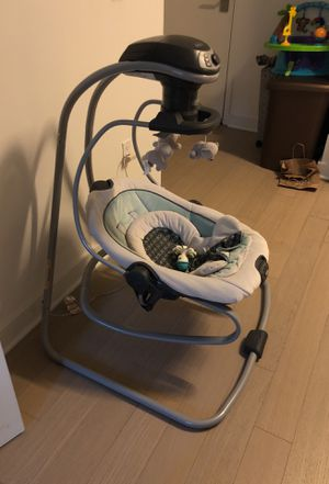 Graco swing duet for Sale in Brooklyn, NY