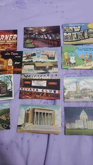 12 old post card lot 01 for Sale in Katy, TX