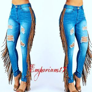 Fringe Denim Pants for Sale in Florissant, MO
