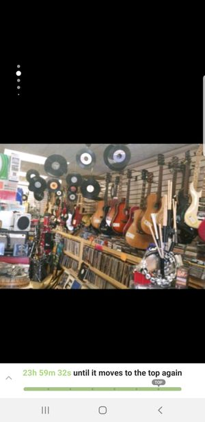 Retro gaming,vynal records,guitars,amps,drums,cymbals stands for Sale in Yorkville, IL