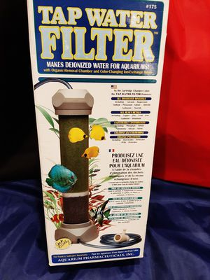 Aquarium tap water filter. for Sale in Brookhaven, PA
