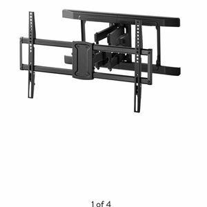 """Brand New Full Motion TV Wall Mount for TVs 47-84"""", Dual Swivel Articulating Arms .Support 47 to 84 TVs .Hold up to 100 pounds (45.5kg) . Mounds to e for Sale in Riverside, CA"""
