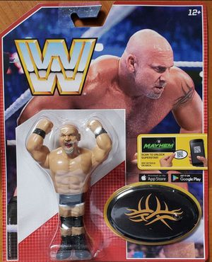 New WWE Retro App Action Figure. (Goldberg) for Sale in Apopka, FL