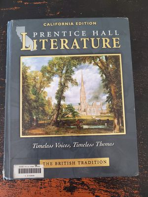 Prentice Hall Literature California Edition for Sale in Chino, CA
