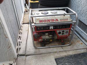 Honda EMS 4000 generator for Sale in Vista, CA