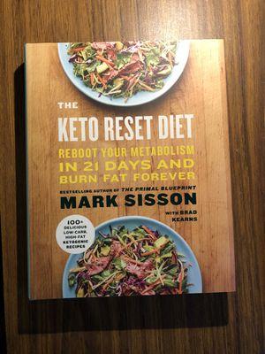 The Keto Reset Diet Book for Sale in Richmond, VA