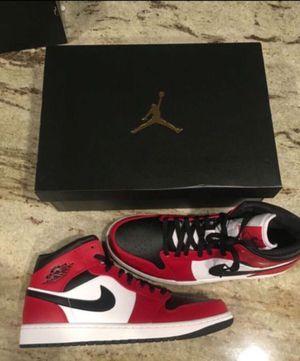 "Jordan 1 size 12 ""Chicago Black Toe"" mids for Sale in West Covina, CA"