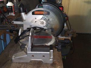 Craftsman 10 inch miter saw for Sale in Port Richey, FL