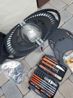 """BBQ Grill """"Portable"""" LP Gas Grill. Great for Tailgating, Camping, Boating and Emergency Cooking. By: Thane Housewares for Sale in Orlando, FL"""