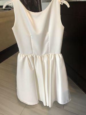 Custom made flower girl/Jr bridesmaid dress. Girl size 10/14 for Sale in Tampa, FL