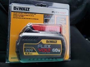 Dewalt 60 battery for Sale in Colden, NY