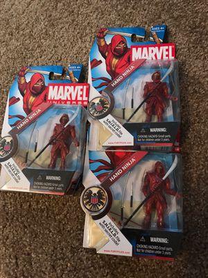 Marvel Universe toy figures. Ronin, Ninja, Gladiator for Sale in San Dimas, CA