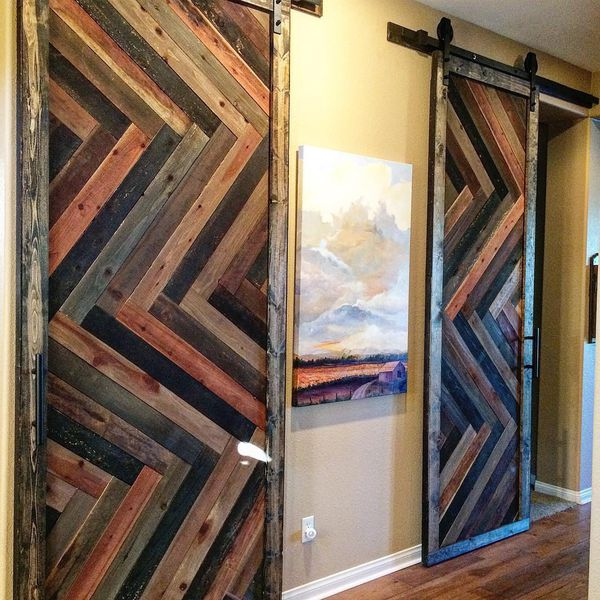 Custom made barn doors. Contact for more info!