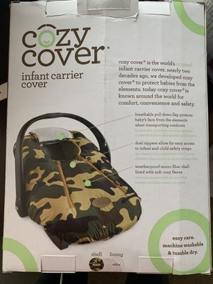 Cozy cover car seat cover for Sale in Tomball, TX