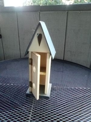 Bird house decoration for Sale in Fresno, CA