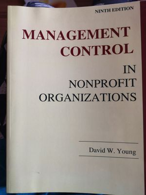 Management control in nonprofit organization 9th edition for Sale in Chicago, IL