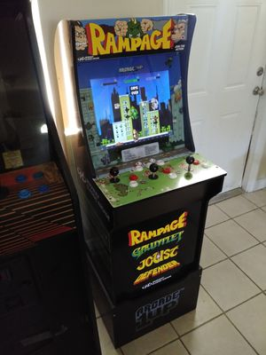 Rampage Arcade 1 Up arcade cabinet for Sale in Oakland Park, FL