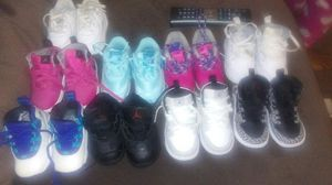 9 pairs of Baby Shoes New Condition Size 4C for Sale in Pittsburgh, PA