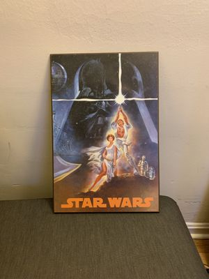 Star Wars Wood Canvas for Sale in Washington, DC