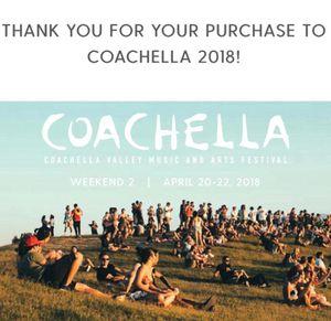 Coachella tickets for Sale in Chico, CA