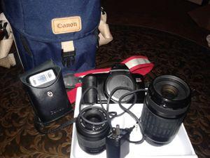 Camera, Canon, EOS RebelX for Sale in Tulsa, OK
