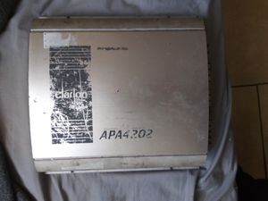 Clarion amp for Sale in Auburndale, FL