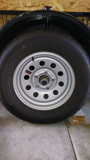 Wanted. 15 inch trailer tire and rim. for Sale in Fullerton, CA