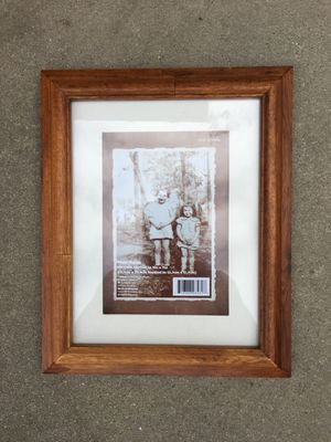 """Photo frame new wood reel nice 7""""x9"""" for Sale in Fresno, CA"""