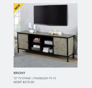 """72"""" TV Stand NEW for Sale in Tustin, CA"""