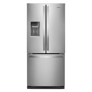 Whirlpool 20 cu. ft. French Door Refrigerator in Fingerprint Resistant Stainless Steel for Sale in Washington, DC