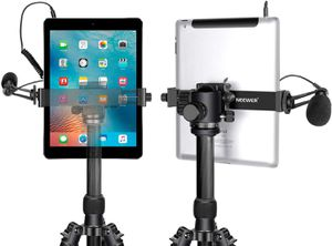 Neewer iPad Tablet Tripod Mount Adapter Holder, 6.3-9.25 inches/16-23.5 Centimeters Adjustable Clamp for iPad Mini iPad 2/3/4, iPad Air/Air2, iPad Pr for Sale in Seattle, WA
