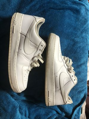 MEN'S NIKE AIR FORCE 1 LOW White sz 12 for Sale in Stone Mountain, GA