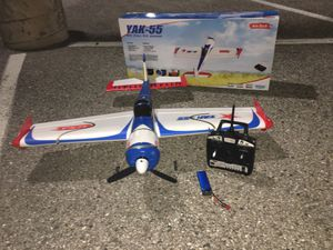 Rc plane art tech yak 55 for Sale in Severn, MD