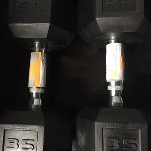 Brand New Top of the Line CAP 35lbs Dumbbell Set for Sale in Rochester Hills, MI