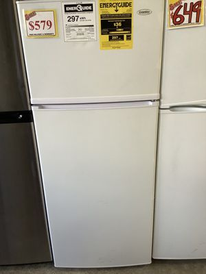 Danby 10.3 cu-ft refrigerator-freezer – USED ( 3 Months Warranty Included ) for Sale in Portland, OR
