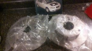 I have to brand new rotors for a 06 Hyundai Sonata and also the manual book axing 60 bucks for everything for Sale in Chicago, IL
