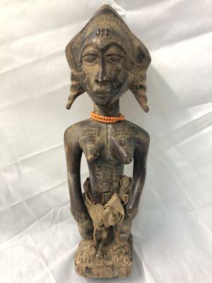Antique 19th century African carved tribal Fertility ancestor figure for Sale in Hoboken, NJ