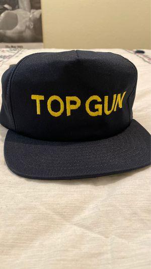 Vintage navy Top Gun SnapBack hat for Sale in Fresno, CA