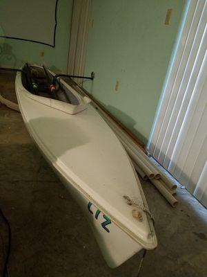Double alden ocean rowing shell with rig oars for Sale in Deltona, FL