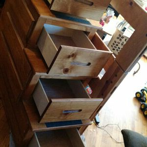 Wooden Stairs with Drawers! For Bunk Bed for Sale in Portland, OR