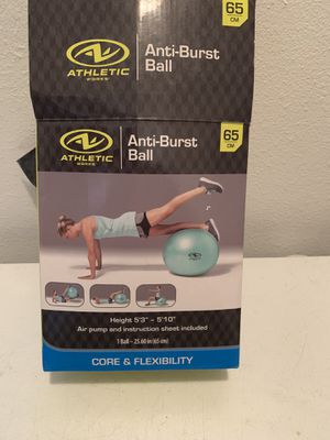 Exercise ball $10 for Sale in Bartow, FL